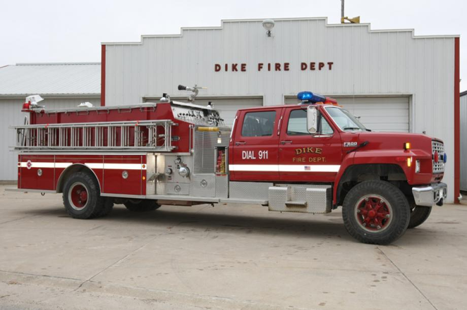 First Out Engine on all fires
